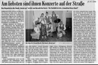 "Zeitungsartikel / newspaper article ""Seven up"""
